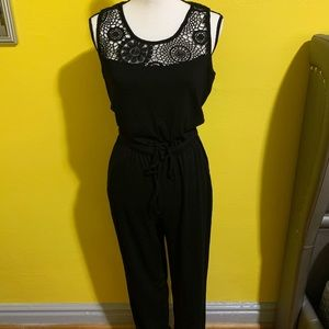 NWOT Black Jumpsuit